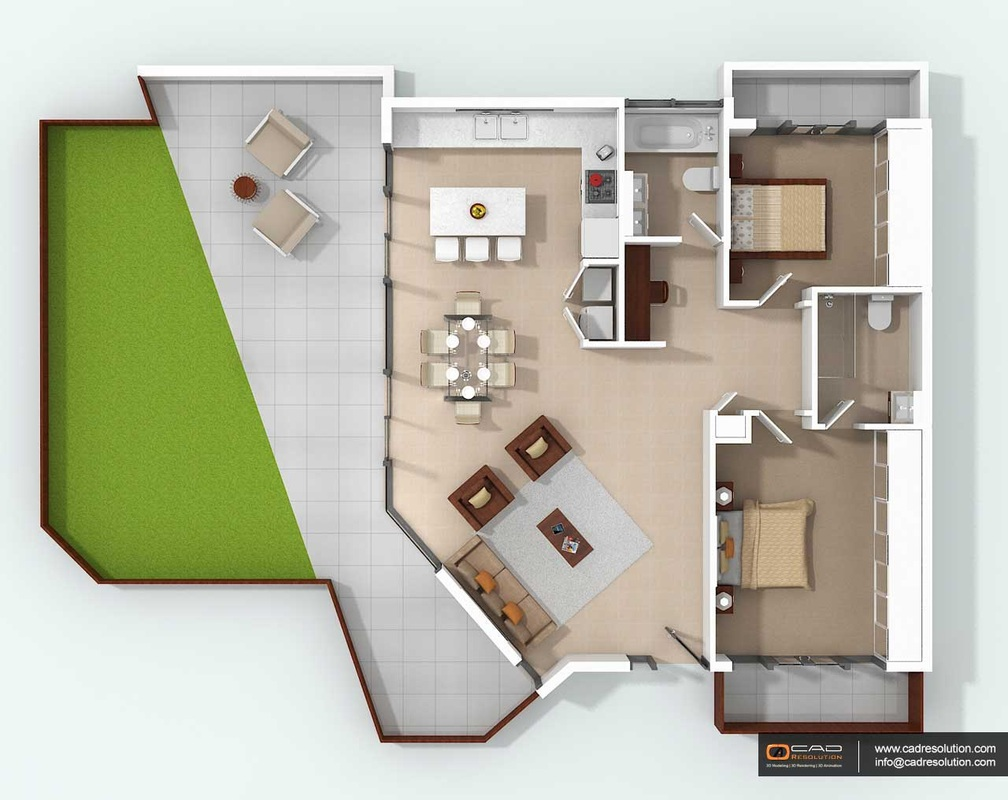How 3d floor plan design useful to get higher value of 3d floor plan software